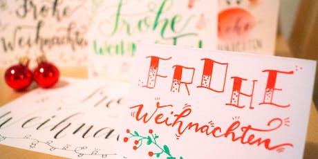 HandLettering Workshop - Weihnachts-Spezial!  tickets