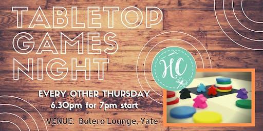 Tabletop Games Night