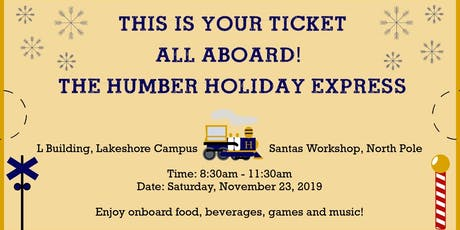 The Humber Holiday Express tickets