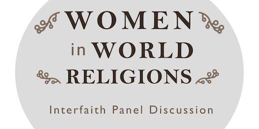Interfaith Panel:  Women in World Religions