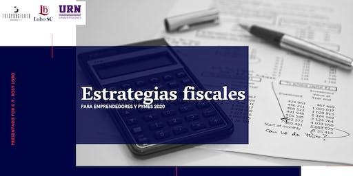 Estrategias fiscales para emprendedores y Pymes 2020
