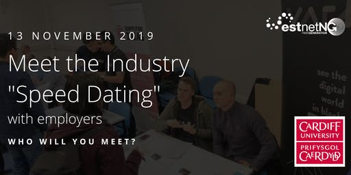 """Meet the Industry """"Speed Dating"""" with Employers 2019"""