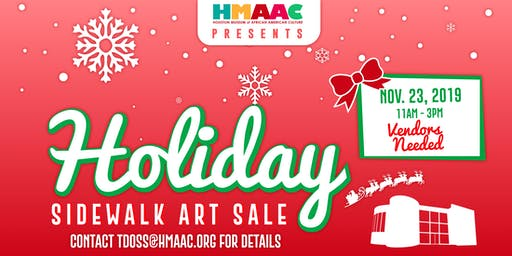 HMAAC Presents : Holiday Sidewalk Art Sale