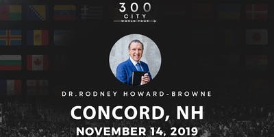 Rodney Howard-Browne in Concord, New Hampshire