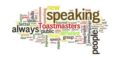 TOASTMASTERS PUBLIC SPEAKING MEETUP