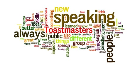 TOASTMASTERS PUBLIC SPEAKING MEETUP tickets