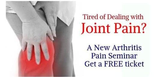 Arthritis Pain Seminar w/ Dr. Tal Cohen - Wellness Expert! Eugene OR