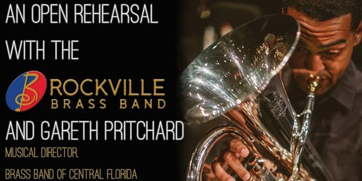 Open Rehearsal with the Rockville Brass Band and Gareth Pritchard