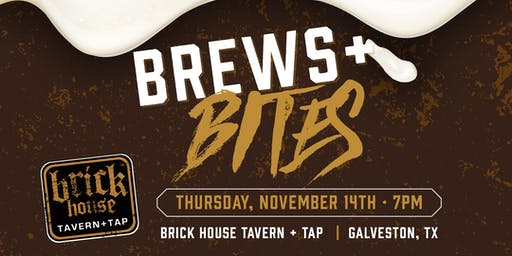 Brick House + Galveston Island Brewing Event