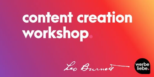 Content Workshop mit Leo Burnett