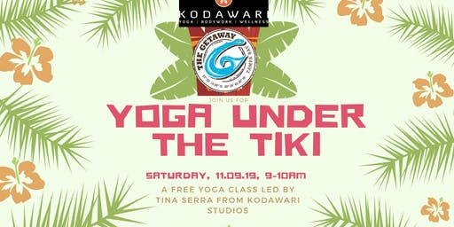 Yoga Under the Tiki