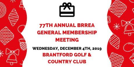 77th BRREA General Membership Meeting tickets
