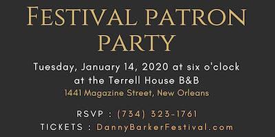 Festival Patron Party