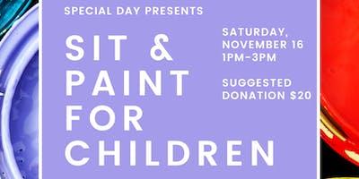 Sit & Paint for Children