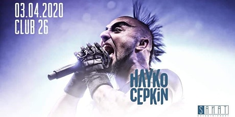 Hayko Cepkin live in Genk tickets