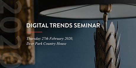 Digital Trends Seminar 2020 tickets