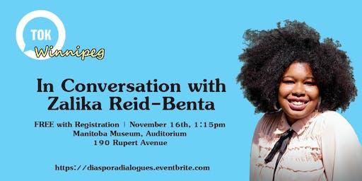 In Conversation with Zalika Reid-Benta
