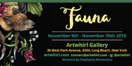 Artwhirl Gallery presents the Fauna Show!
