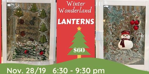 Winter Wonderland Lanterns