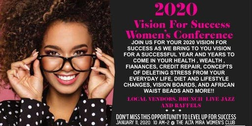 2020 VISION FOR SUCCESS WOMEN'S CONFERENCE