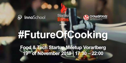 StartupBites meets Innoschool - crowdfoods Food Startup Meetup Vorarlberg