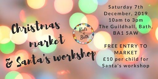 Santa's Workshop at the Kids of Bath Christmas Market
