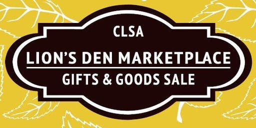 Lions Den Marketplace - Gifts and Goods Sale