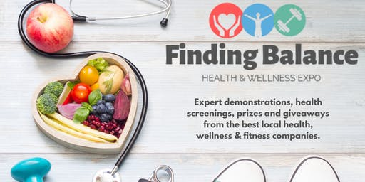 Finding Balance this Winter: a health, wellness & fitness event.