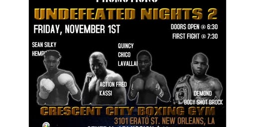 Night of the Undefeated 2