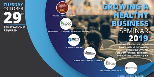 Growing A Healthy Business Seminar