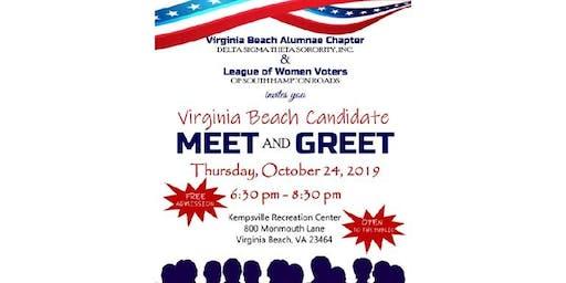 Virginia Beach Candidate Meet & Greet