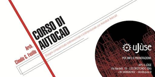 Presentazione corso Autodesk Autocad | Arch. Claudio G. Fusillo
