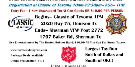 """25th Annual """"For the Kids"""" Toy Run"""