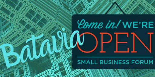 Batavia Small Business Forum Kick-Off