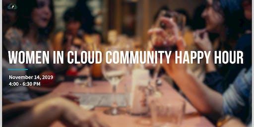 Women in Cloud Community Happy Hour