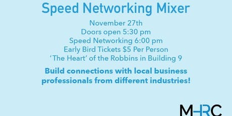 Speed Networking Mixer tickets