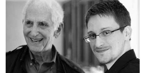 Daniel Ellsberg and Edward Snowden in Conversation