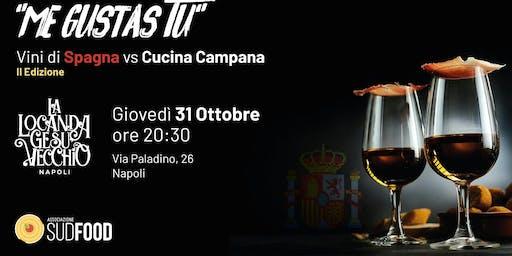 ME GUSTAS TU - Cena didattica Spagna VS Campania