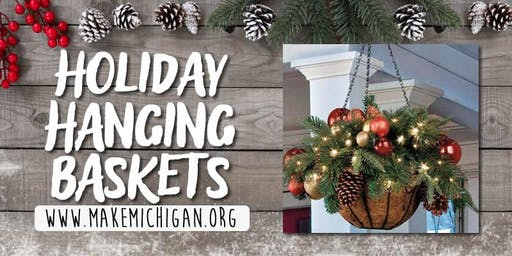 Holiday Hanging Baskets - Kalamazoo