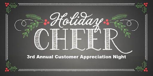 3rd Annual Customer Appreciation Night