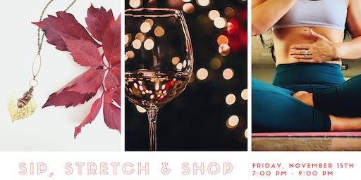 Sip, Stretch & Shop