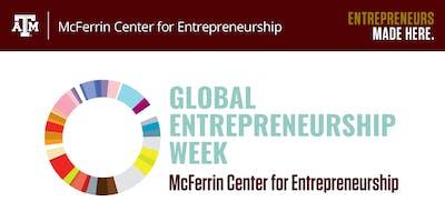 2019 Global Entrepreneurship Week at Texas A&M University