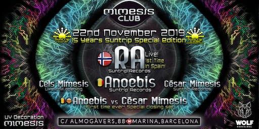 Mimesis CLUB - November w/ RA & Anoebis!
