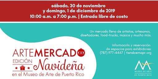 ArteMERCADO en el MAPR - Edición Navideña 2019
