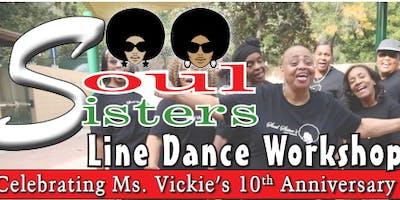 Soul Sister's Line Dance Workshop