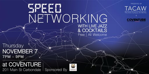 Speed Networking With Live Jazz & Cocktails