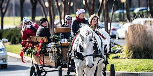 Horse & Carriage Rides at Winter WonderLansdowne