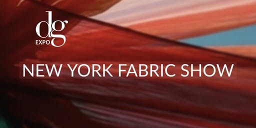 NEW YORK FABRIC SHOW/ JAN. 2020