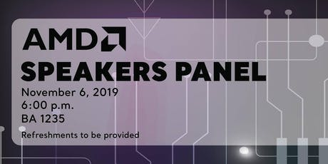 AMD Speakers Panel tickets