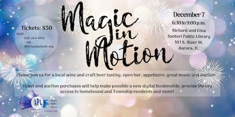 Magic in Motion tickets